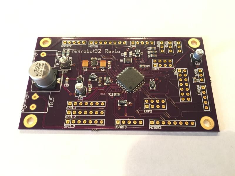 minrobot32 rev1a controller board